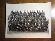 1950s/1960s US Army Military Training Class Platoon Photograph Fort Ord CA