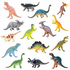 """Monster (15-Pack) Large 7"""" Toy Dinosaurs Set - Enormous Variety of Authentics"""