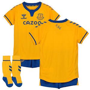 Hummel Infant & Baby Everton Football Away Infant Kit 2020-21