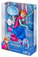 Disney Frozen Ice Skating Anna Doll Ages 3+ Mattel Toy Girls Play Fun Happy Gift