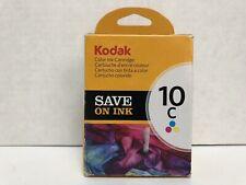 Kodak 10C COLOR Ink Cartridge Prints 420 pgs - New Original Pkg - Free Shipping