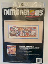 Vintage 1993 Dimensions New in Package Complete Kit #3133 Heart of the Country
