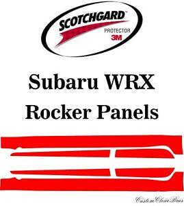 3M Scotchgard Paint Protection Film Clear Pre-Cut Fits 2018 2019 2020 Subaru WRX