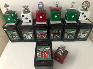 Enesco Mini Action Musical Dice Lot Of 7 All Work!