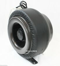 """120V 4"""" Inline Duct Exhaust Fan Air Blower Hydroponics Cooling 190CFM"""