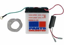 Parts Unlimited - LEMM2655B - 6V Conventional Battery, Y6N5.5-1D