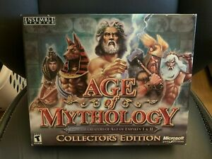 Age of Mythology: Collectors Edition PC Game (No. 36,784 of 50,000) New in box