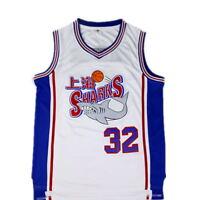 Jimmer Fredette Shanghai Sharks Stitched #32 Basketball Jersey White Men's