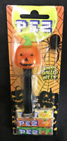 PEZ Pumpkin Crystal With Distressed  European Blister Plastic