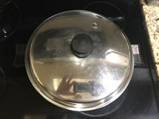 """SALADMASTER 11"""" 7817 Stainless Steel Electric Skillet Cookware Control Missing"""