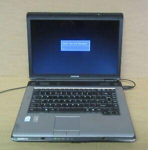 """Toshiba Satellite Pro L300 15.4"""" Celeron 550 2Ghz 1GB 120GB XP Pro COA Laptop"""