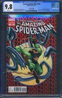 Amazing Spider-Man 700 (Marvel) CGC 9.8 White Pages 2nd Print Variant 300 Homage