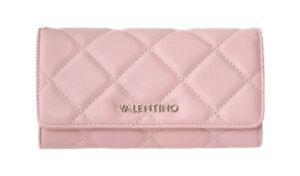 VALENTINO OCARINA Multi Clutch Altrosa, Damen-Geldbörse Portemonnaie Wallet