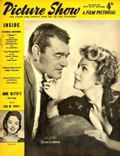 Picture Show Magazine 1773 Jack Hawkins & Arlene Dhal Fortune Is a Woman