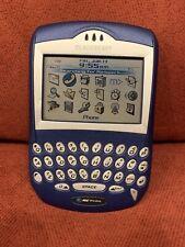 RARE BlackBerry 7210 - Blue (Unlocked) Smartphone collectors item QWERTY phone