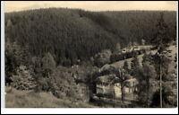 Finsterbergen Thüringen DDR Postkarte ~1960 gelaufen Blick vom Hainfelsen