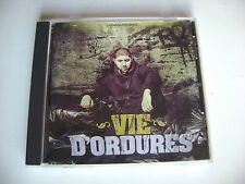 Zero - Vie D'ordures - CD Rap Francais - 8 Titres