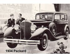 1934 Packard  Auto  Refrigerator / Tool Box Magnet