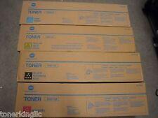 4 NEW Genuine Konica Minolta Bizhub C550 C650 Toner TN611K TN611M TN611C A070430