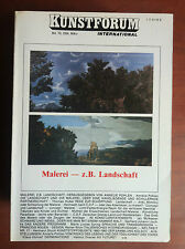 Kunstforum International Bd 70 Marz 1984 Malerei z.B. Landschaft