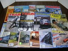 Railroad Magazines Lot of 16 Misc mixed lot of Train Magazines
