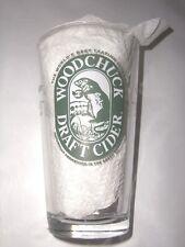 Woodchuck Draft Cider Glass Snakebite Black Velvet Free Shipping -061202