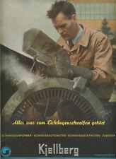 Kiellberg.Schweißautomat. Anzeigenwerbung von 1942.