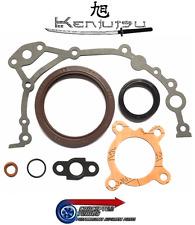 Kenjutsu Bottom End Conversion Gasket Oil Seal Set-For R33 GTS-T Skyline RB25DET