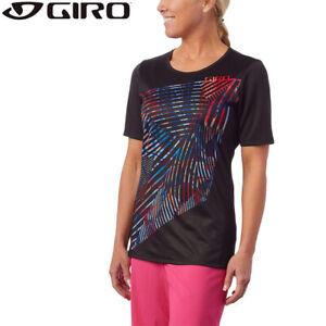 Giro Roust MTB Womens Jersey - Black / Multi - XS S