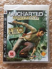 NEW SEALED UNCHARTED ORIGINAL RELEASE FOR PS3 SONY PLAYSTATION 3