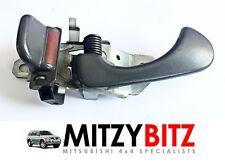GREY LH N/S INNER INSIDE DOOR HANDLE for MITSUBISHI L200 SHOGUN SPORT 2001-2007