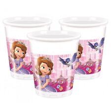 Set 8 Bicchieri Plastica Disney Sofia  PS 10689
