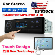 Car Audio Electronic In Dash Dvd Cd Mp3 Player Usb/Sd Aux Input Receiver Stereo