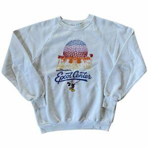 Vintage 90s Walt Disney World 'Epcot Center' Sweater