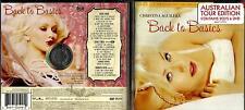 Christina Aguilera rare Australian Tour Edition 2Cd & Dvd set- Back To Basics