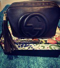 GUCCI Small Leather Disco Bag