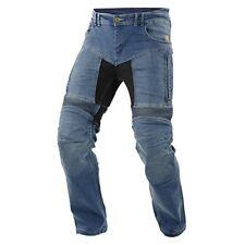 Pantalons d'été bleu pour motocyclette Homme