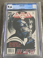 Punisher 102 CGC 9.6 Bullseye Cover 1995