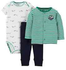 NWT Carter's Baby Boy 3 Months 3 Piece Jacket Bodysuit Pants Daddy's Buddy Dogs