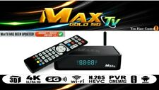 MAXTV GOLD 5G 4K ULTRA-HD ANDROID 7.1 QUAD-CORE 64 BIT