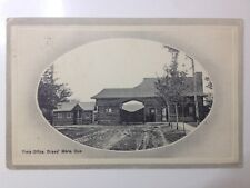 cpa Postcard RARE de 1913 CANADA Time Office Librairie GRAND' MERE QUEBEC