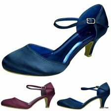 Patternless Mary Janes Standard Width (B) Heels for Women