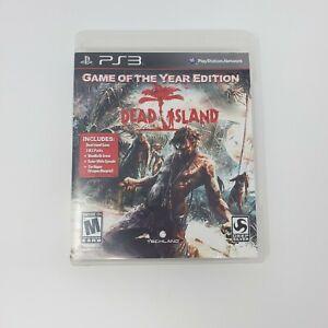 Dead Island PS3 Sony PlayStation 3 Disc Case Manual