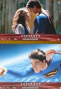 SUPERMAN RETURNS - Lobby Cards Set - Kate Bosworth, Brandon Routh, Bryan Singer