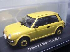 NOREV Nissan Be-1 1987 1/43 Scale Box Mini Car Display Diecast vol 70