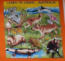 Make A Book Panel - Australia- Learn To Count