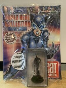 Catwoman- Eaglemoss Figurine DC Comics Super Hero Collection- Free Shipping! NIB