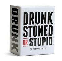 DRUNK STONED OR STUPID Game Party Card Games Cards  Latest Version MELBOURNE STO