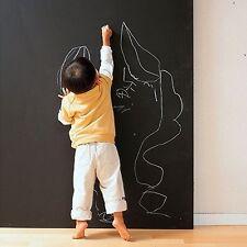 Peel & Stick Office Children Room Drawing Notice Blackboard Wall Sticker