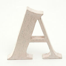 HOME DECOR PINK DECORATIVE WOODEN LETTER 'A'